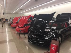 Indoor car show Grove OK