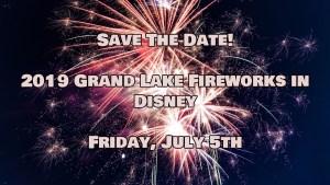 2019 Grand Lake Fireworks