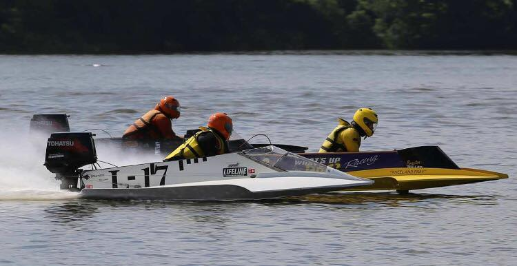 Boat races at Grand Lake OK