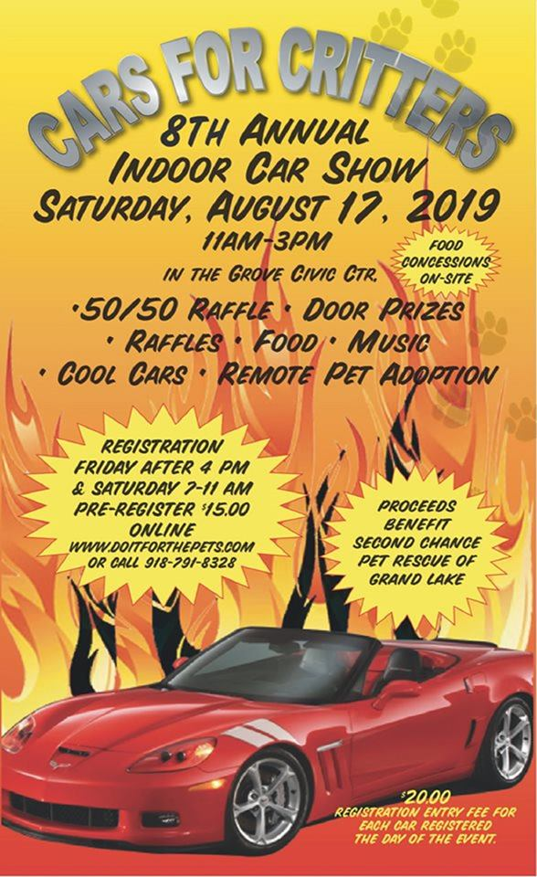 2019 Cars for Critters Car Show