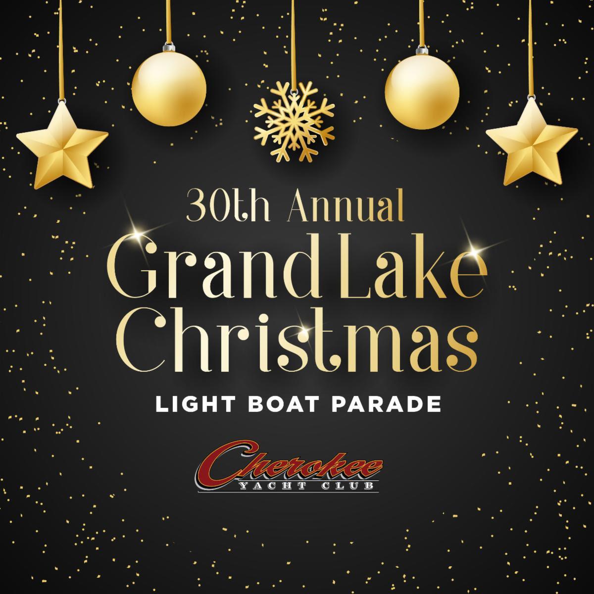 2019 Grand Lake Christmas Light Boat Parade