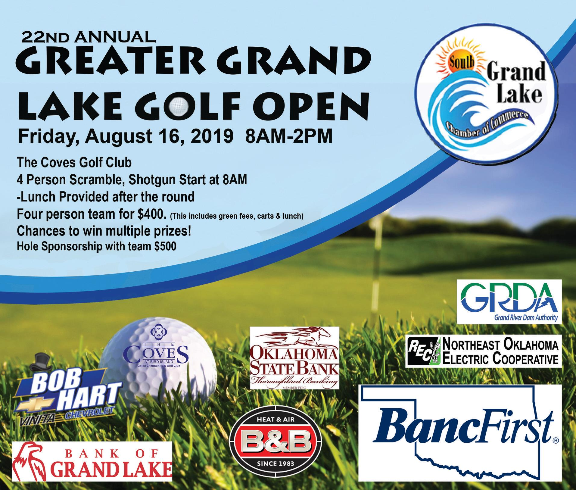 Greater Grand Lake Golf Open