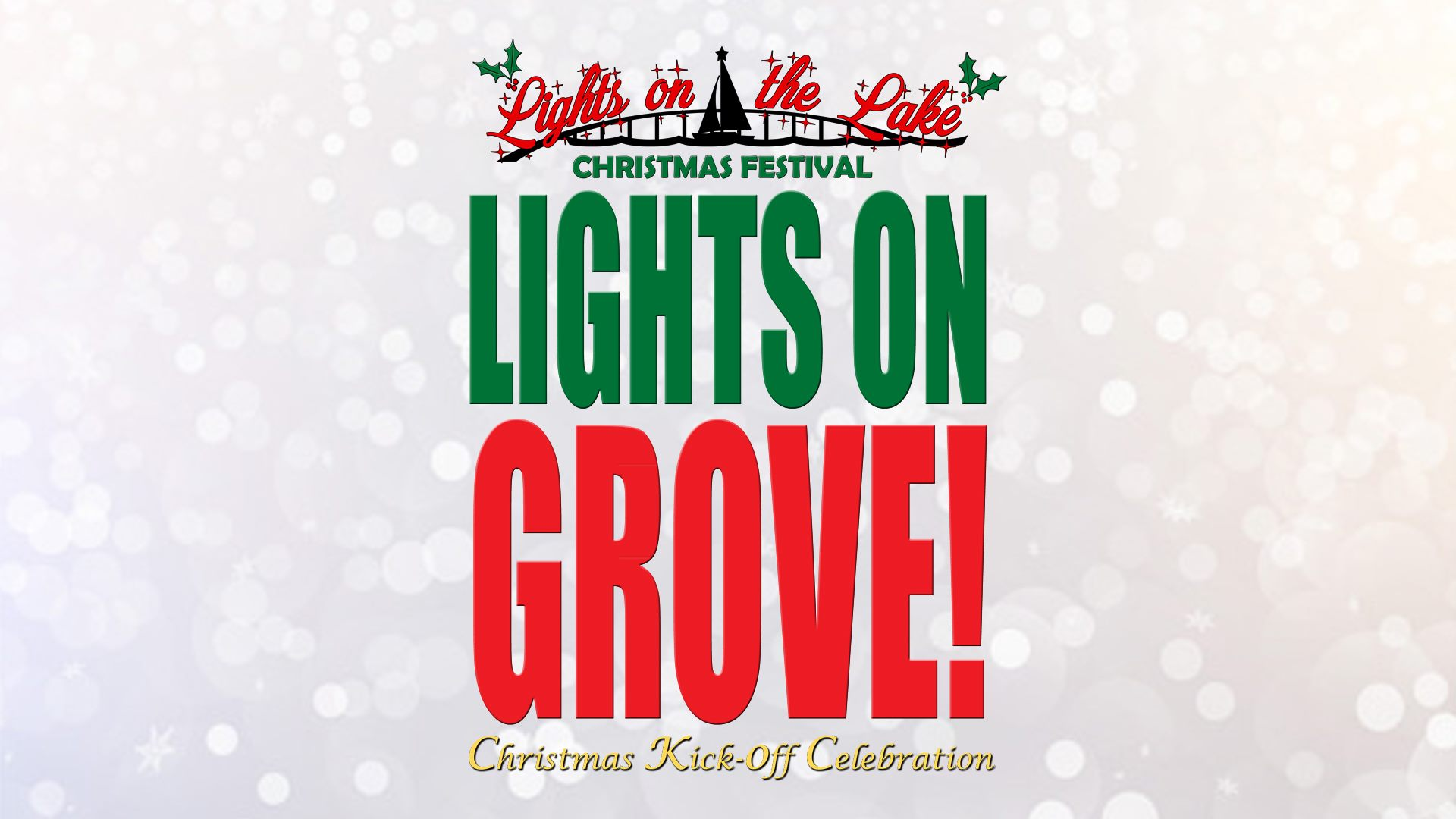 Grove OK Christmas Tree Lighting