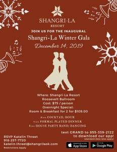 Shangri-La Winter Gala 2019