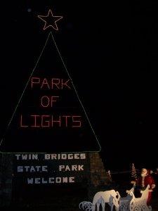 Twin Bridges Park of Lights 2019