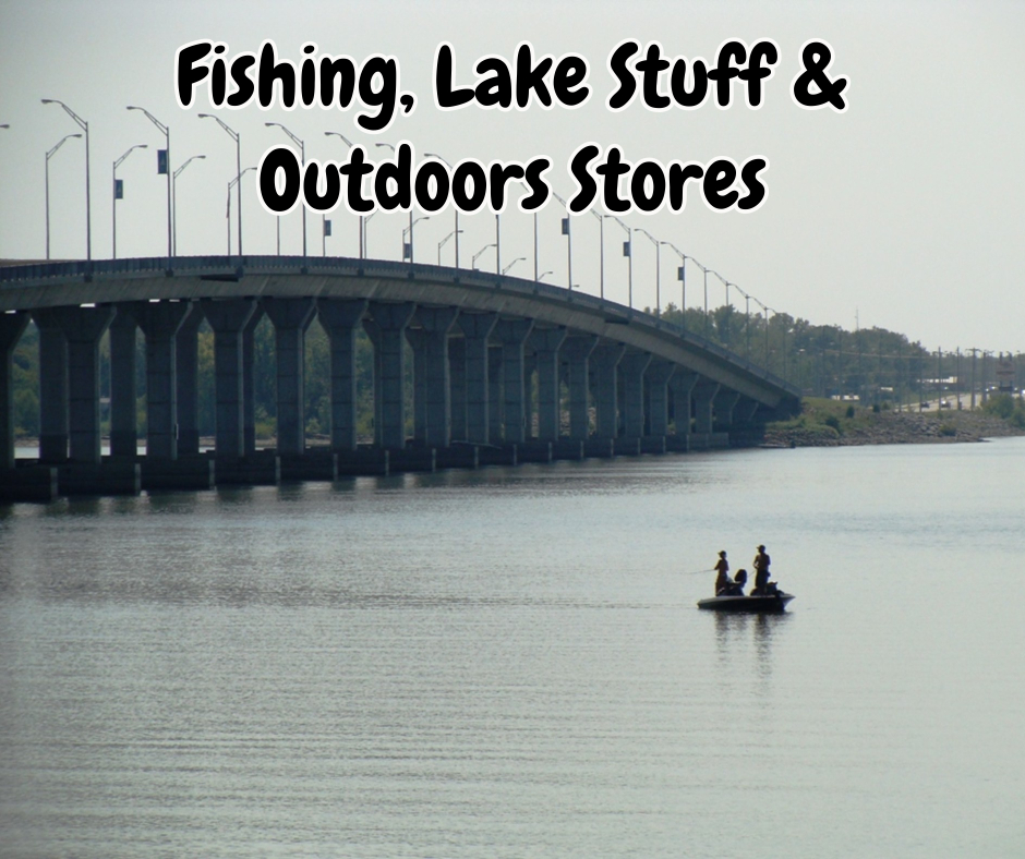 Bait and tackle shops at Grand Lake Oklahoma
