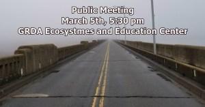 Public Meeting about Pensacola Dam