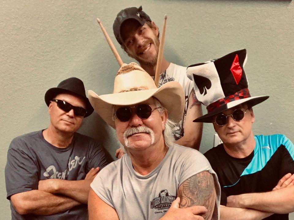 Broken Aces band at Grand Lake