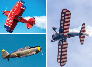 Duck Creek Airshow Aircraft Viewing