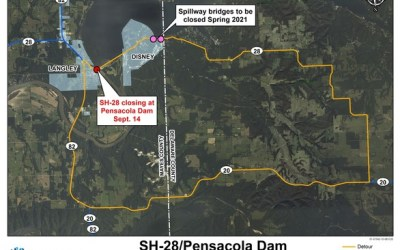 Pensacola Dam To Be Closed to Traffic Through March 2021