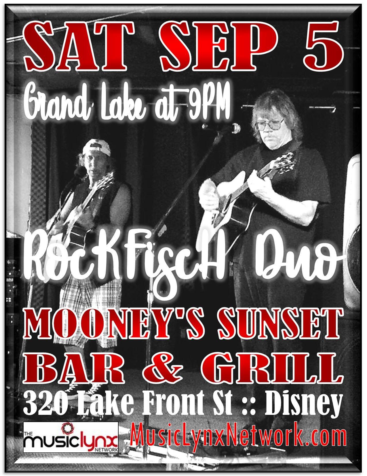 RockFiscH Duo at Mooneys