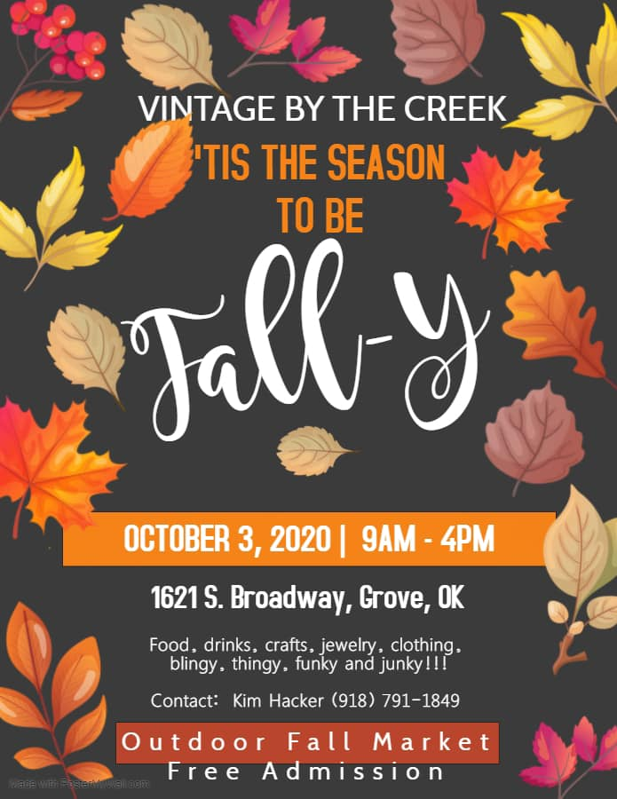 Vintage by the Creek October 2020