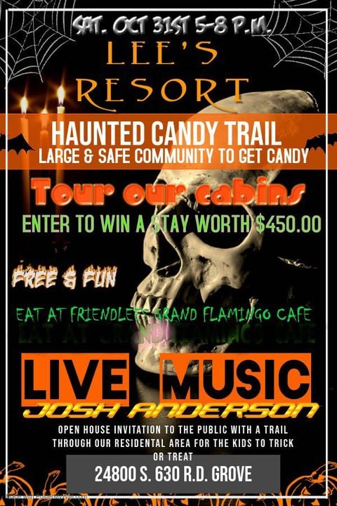 Lee's Resort Haunted Candy Trail
