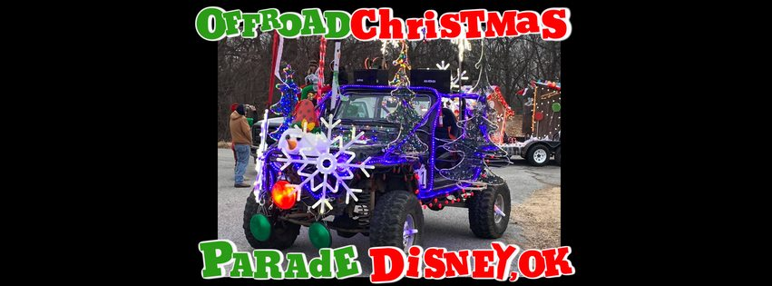 Offroad Christmas Parade in Disney