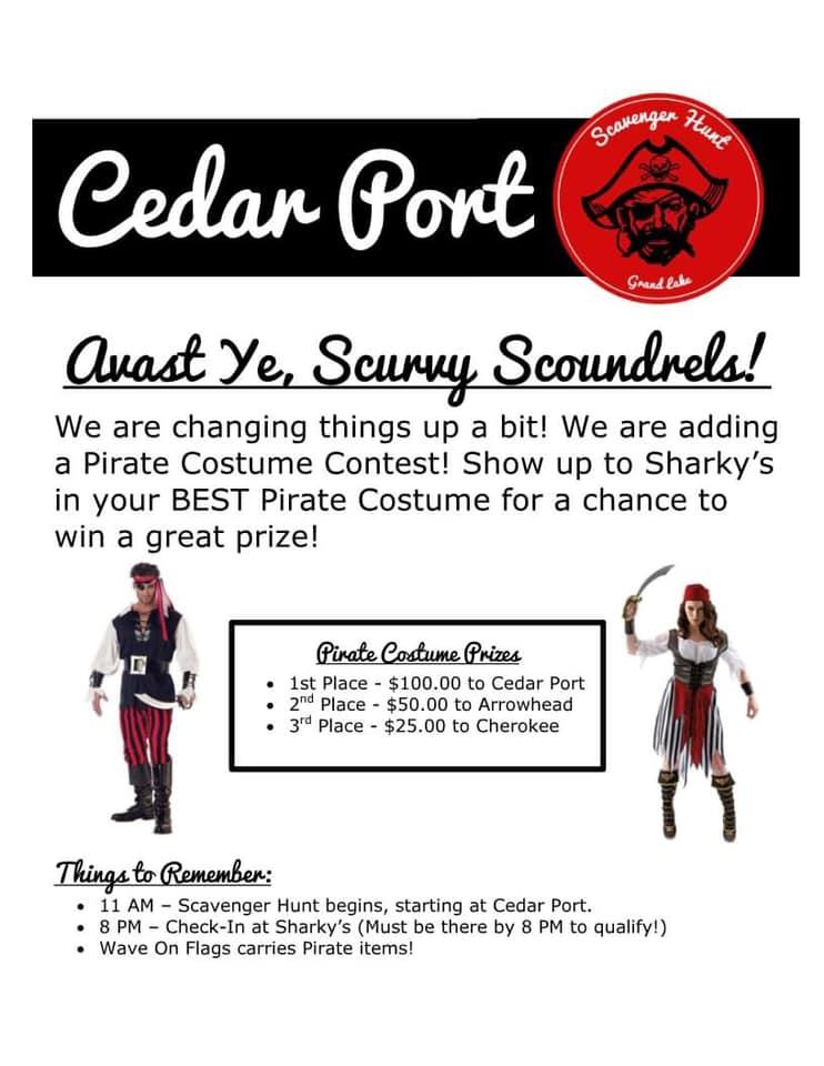 Cedar Port Scavenger Hunt