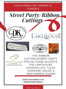 Street Party and Ribbon Cutting