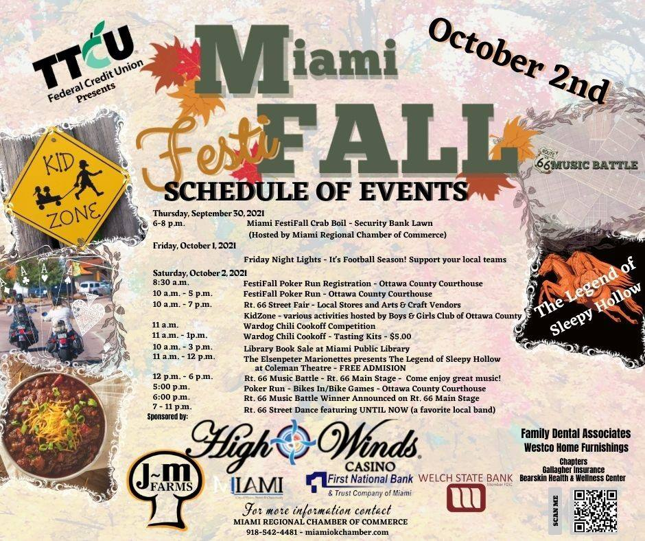 Miami Festifall schedule of events