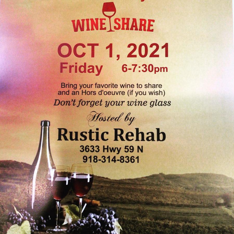 October Wine Share Grove OK