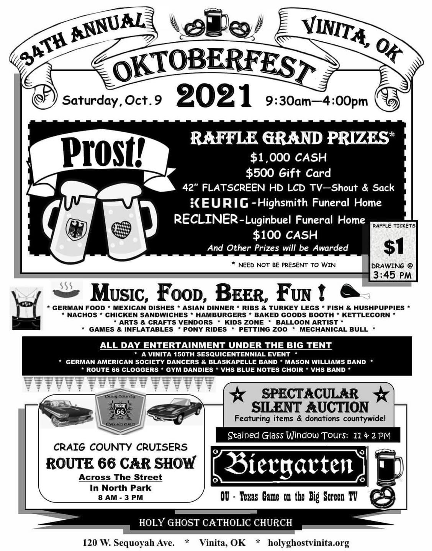 Octoberfest and Route 66 Car Show Vinita OK