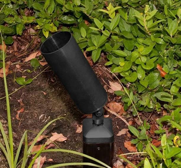 tube shield par20 bullet 3 15 cast aluminum 120v directional spot landscape light
