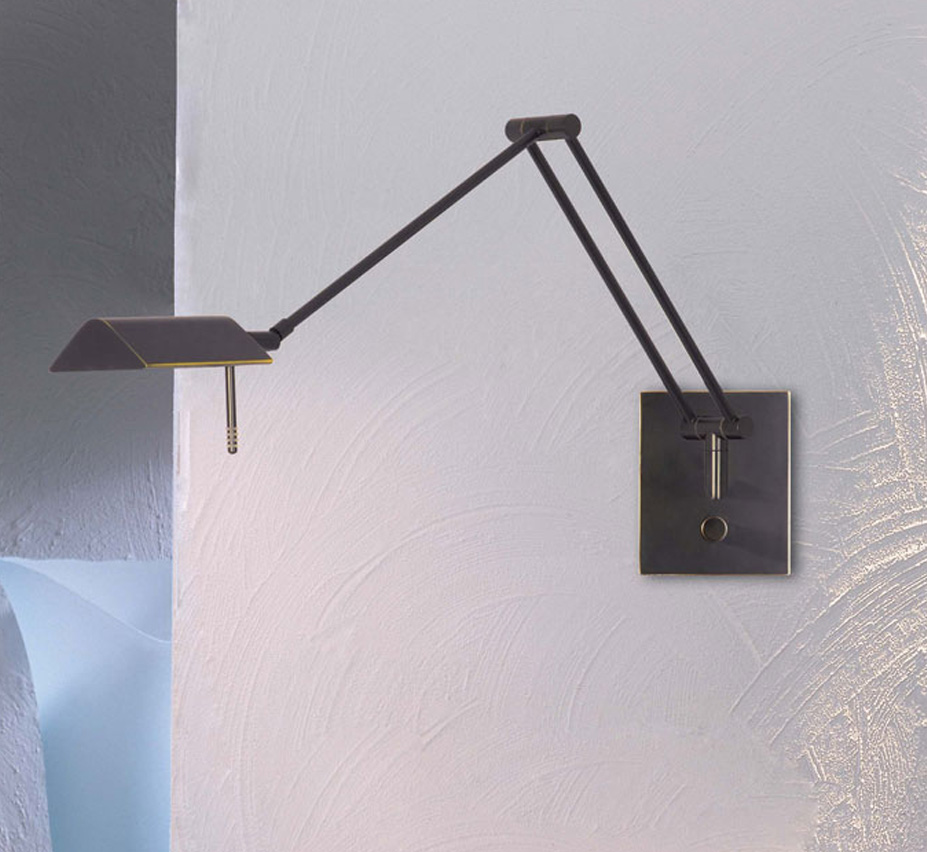 Bernie Collection Halogen Low Voltage Swing-Arm ... on Small Wall Sconce Light id=79267