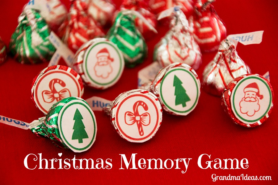 Christmas Memory Game Grandma Ideas