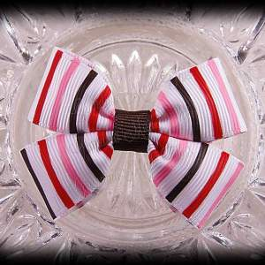 Misc Double Bow-Tie Hairclips