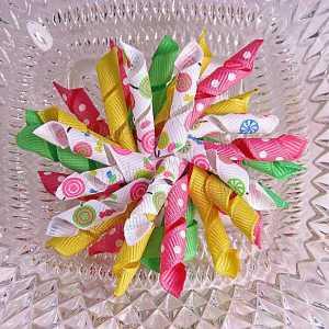 Lollipop 1 Korker Ribbon Bow