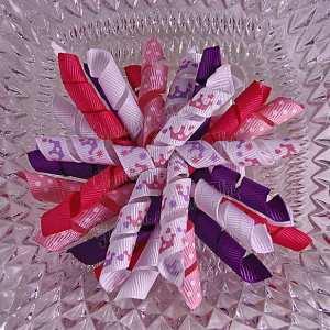 Princess Crowns 2 Korker Ribbon Bow