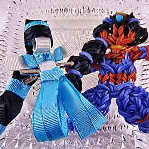 Princess Jasmine Ribbon Sculpture Hairclip Loom Doll Set One