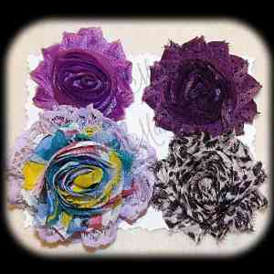 Shabby Chic Interchangeable Flower Set 13