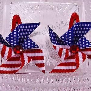 Patriotic Pinwheel Snap Clippie Sets
