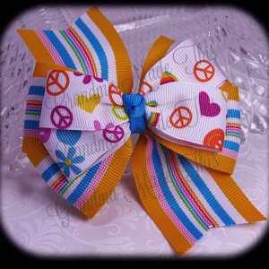 Stacked Quad Pinwheel Hearts