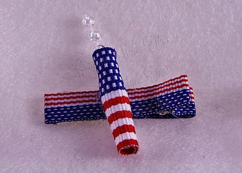 Firecracker Hairclip Flag-Medium (3)