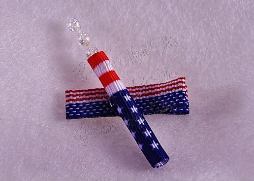 Firecracker Hairclip Flag-Small (1)