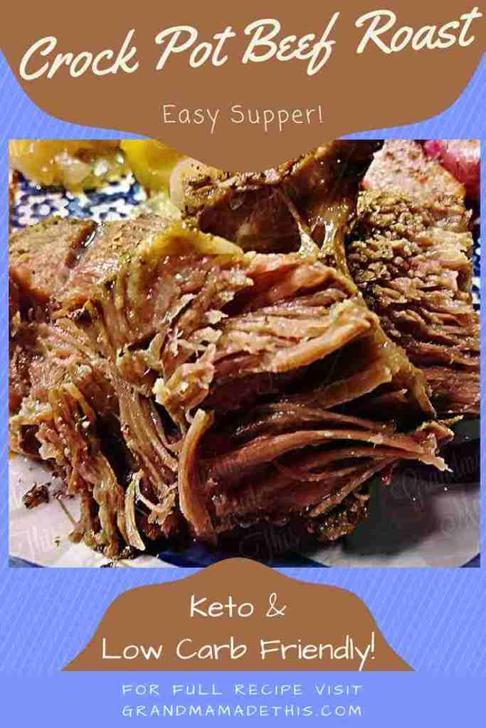 Crock Pot Beef Roast pin