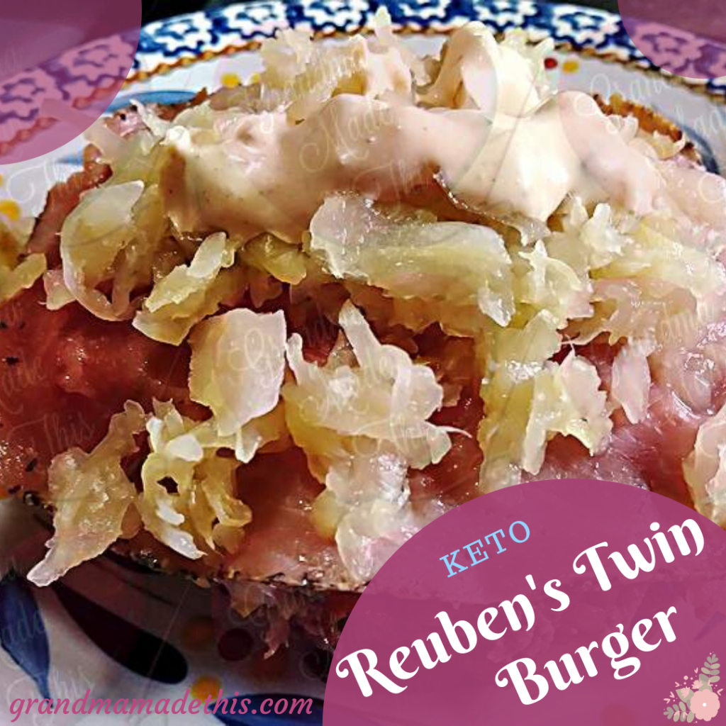 Reuben's Twin Burger Recipe