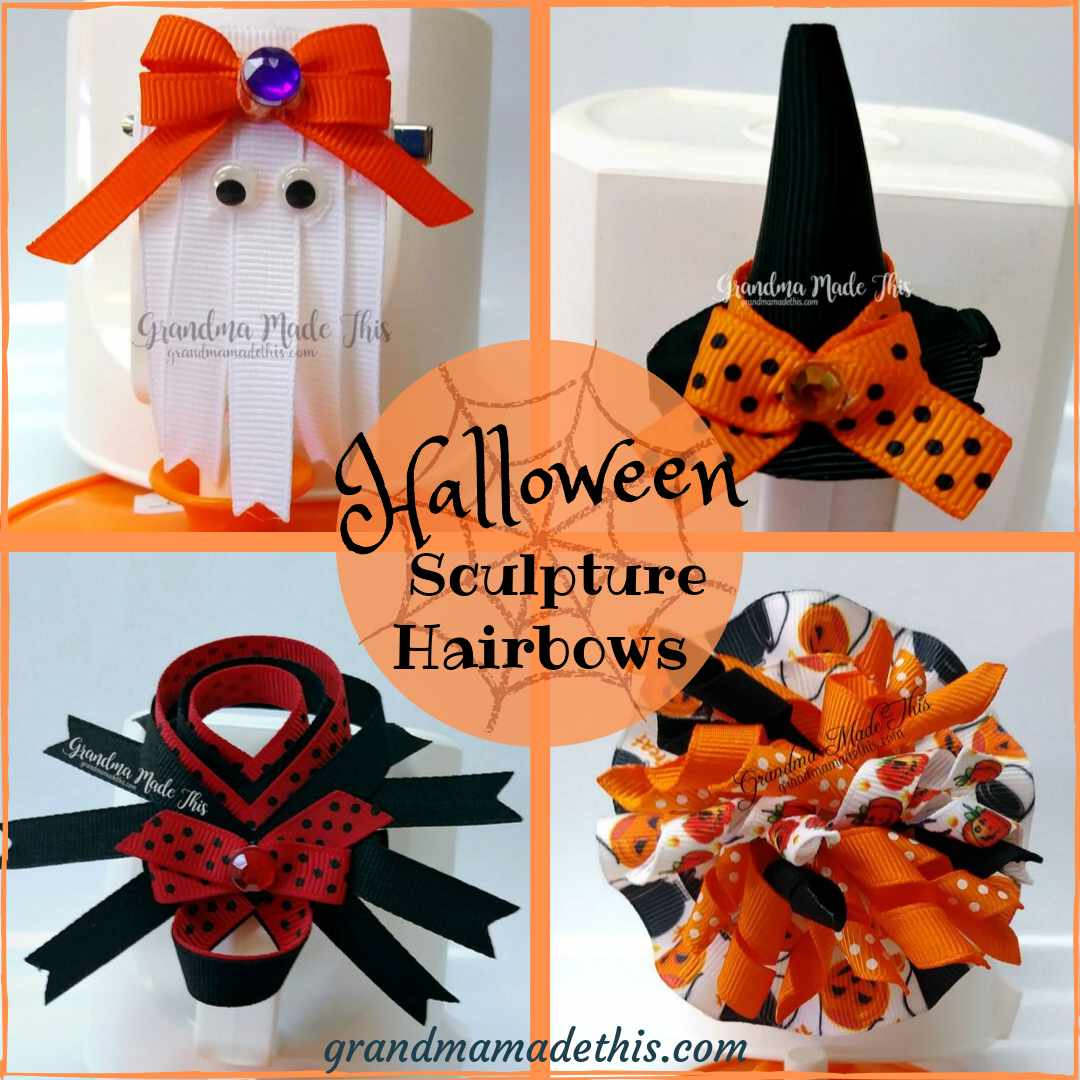 Halloween Hair Bows & Headbands