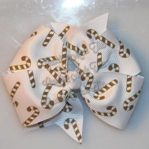 Christmas Large Quad Hair Bows