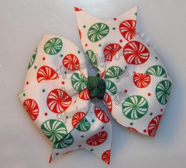 Peppermint Candies Large Quad Pinwheel