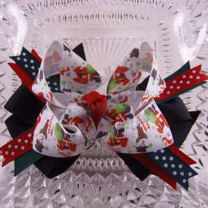 Christmas Twisted Ribbon Bows $9.00