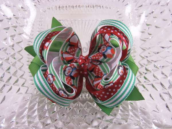 $9.00 group #3 Multi Layer Twisted Hair Bow