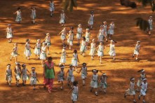 School Playtime in Mumbai