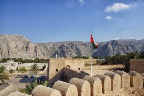 view from Khasab fort