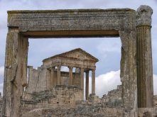Dougga remains