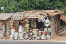 Gambian beach stall