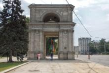 Triumphal Arch in chisinau