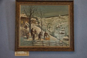 Winter Scene in museum