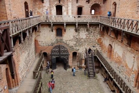 Inside Trakai