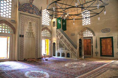 Mostar mosque interior